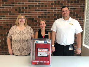 "Western Wayne School District Receives ""Stop the Bleed"" Kits"