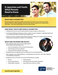 E-cigarettes and Youth: What Parents Need to Know
