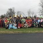 The Western Wayne Marching Band visited local nursing homes on Wednesday, Oct. 30