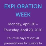 Virtual College Exploration – Juniors & Sophomores