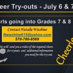 JH Cheer Try-outs