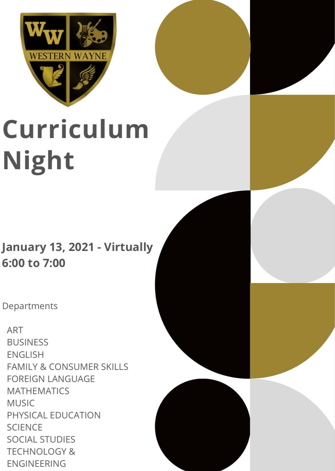 Curriculum Night 2021