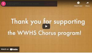 Chorus celebrates Music in our Schools Month