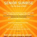 Senior Sunrise – Class of 2022