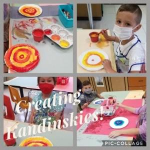 RDW studies the Art of Wassily Kandinsky