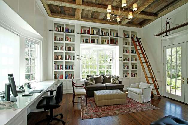 Floor To Ceiling Organization And Bookcase