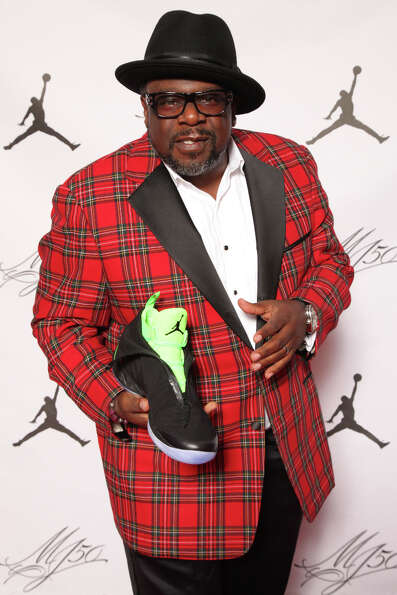 IMAGE DISTRIBUTED FOR JORDAN BRAND - Cedric the Entertainer is seen at the Jordan Brand party celebr