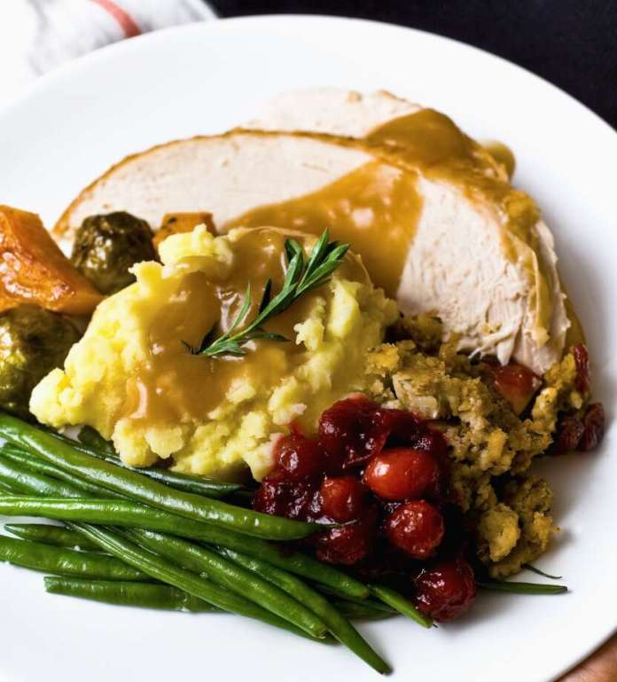 A traditional Thanksgiving dinner will cost less this year in Texas, says the Texas Farm Bureau. Photo: Getty Images