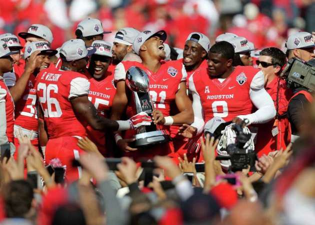 Houston is the defending AAC champion - photo via Houston Chronicle