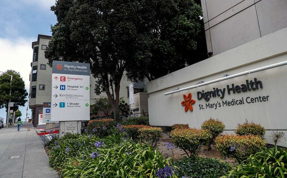 St. Mary's Medical Center in San Francisco, Ca., on Mon. August 7, 2017. UCSF will be taking its resources and bringing it over to Dignity. Photo: Michael Macor, The Chronicle
