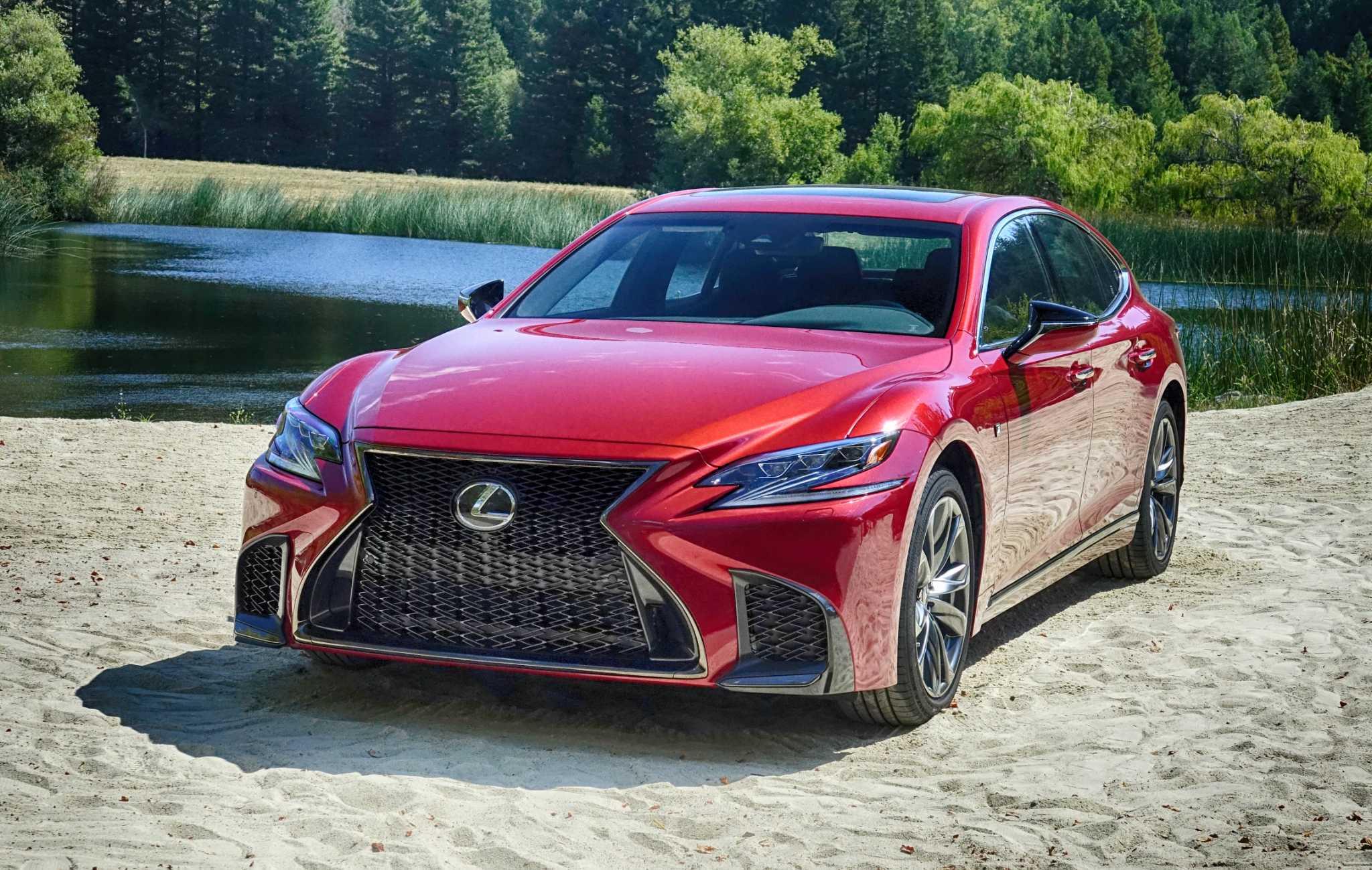 Massively overhauled 2018 Lexus LS is fast luxurious SFGate