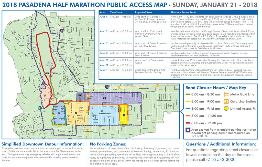 City Releases Official Public Access Map For The Pasadena