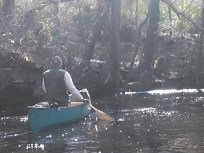 640x480 Bret Wagenhorst, in Statenville to Sasser Landing on the Alapaha River, by John S. Quarterman, for WWALS.net, 15 February 2015