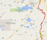 602x521 ARWT Central, in Alapaha River Water Trail draft map, by John S. Quarterman, for WWALS.net, 7 November 2014