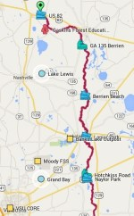 394x636 ARWT Upper, in Alapaha River Water Trail, by John S. Quarterman, for WWALS.net, 1 March 2015