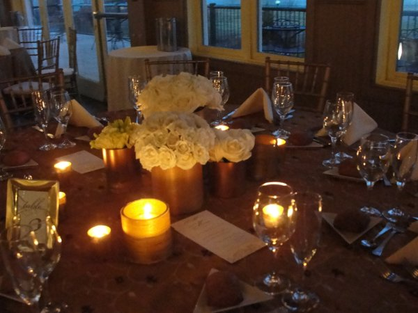 Liberty House Restaurant wedding by Limelight Floral Design wedding florist Hoboken NJ