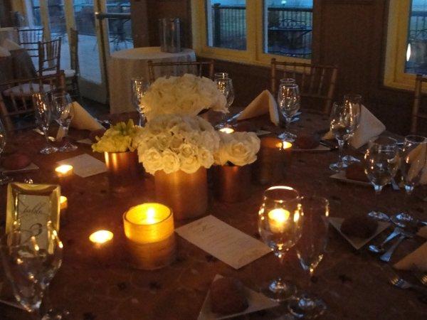 Liberty House Restaurant wedding by Limelight Floral Design wedding florist Hoboken NJ