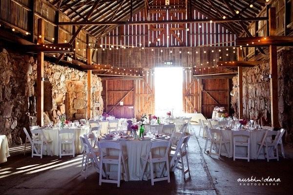 Rustic Venue Ideas Wedding Reception Photos By Austin