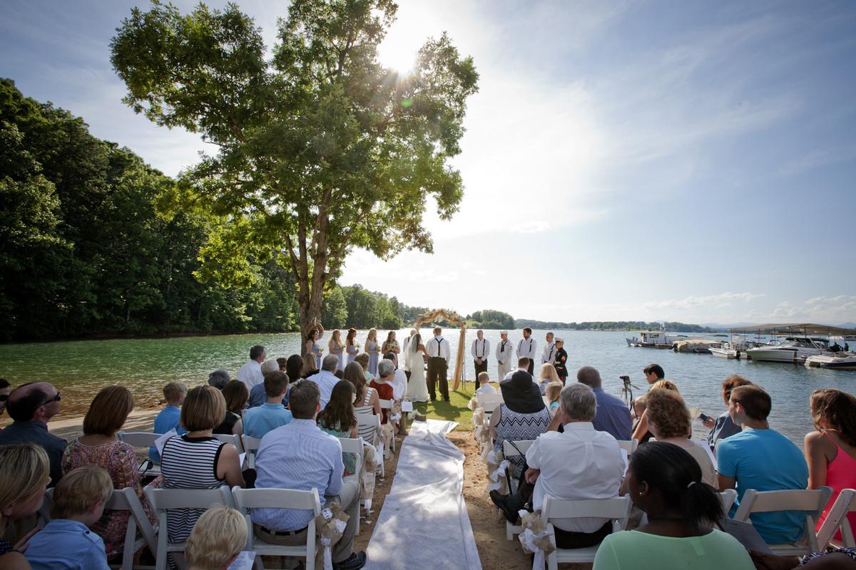 Hidden Cove At Lake Keowee Wedding Ceremony Amp Reception