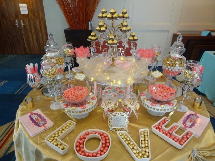 Fall Wedding Reception Food Display