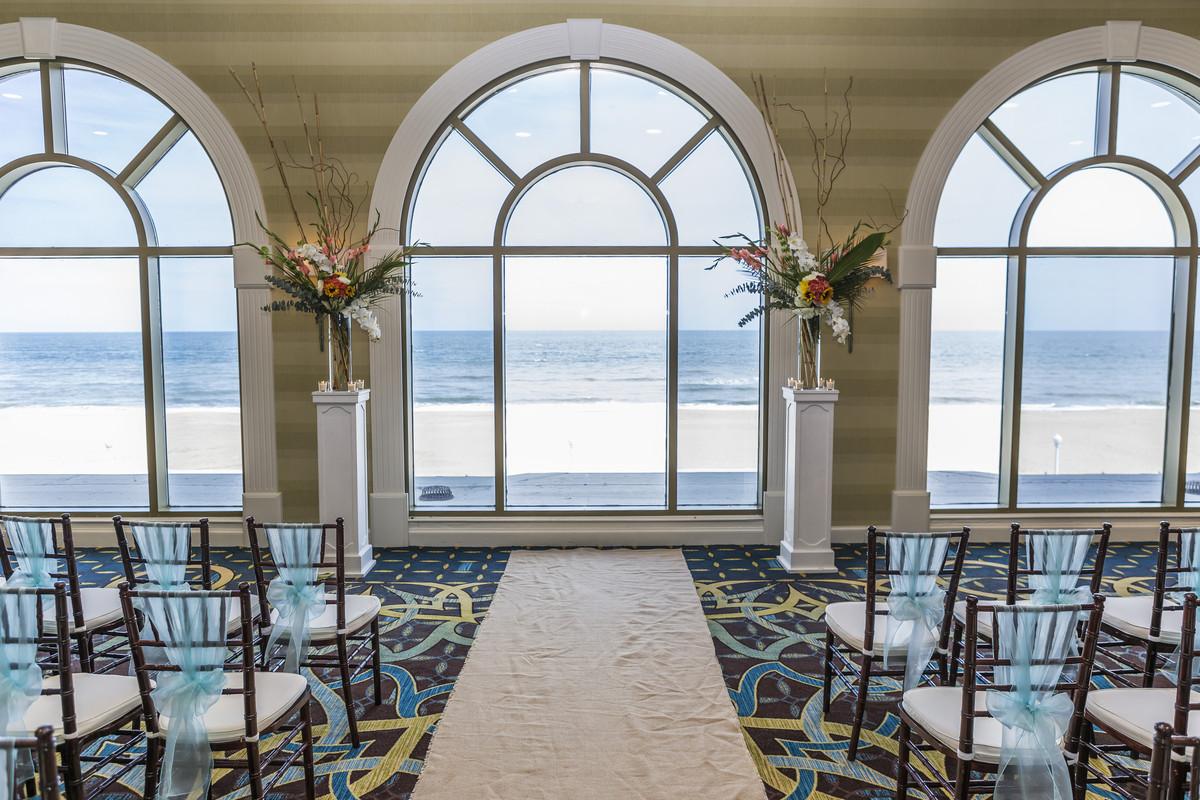 Sheraton Virginia Beach Oceanfront Hotel Wedding Ceremony