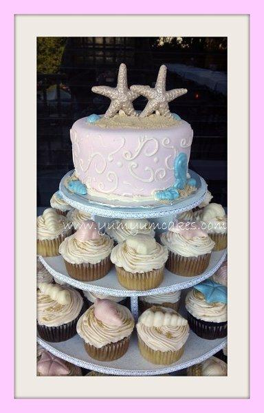 Yum Yum Cakes Fort Myers FL Wedding Cake