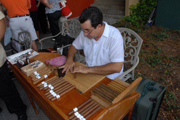 Cigar Roller Events BNF Escapades Inc By Frank Paul