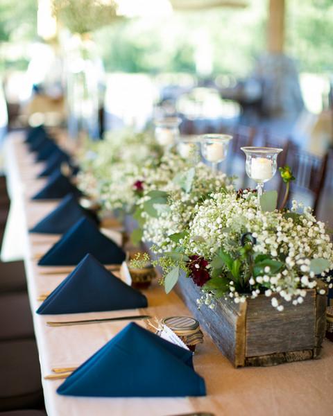 Fall Centerpieces Wedding Reception