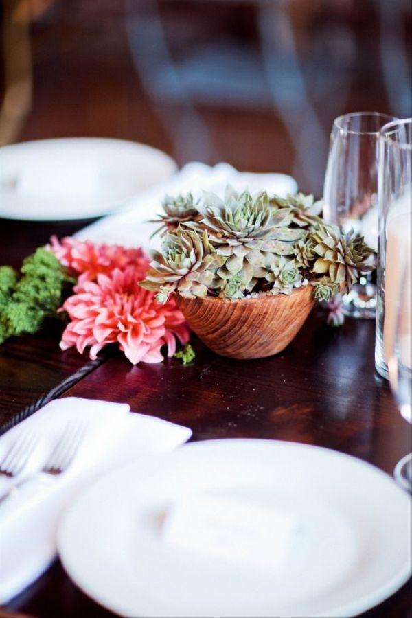 15 Sweet Succulent Wedding Décor Ideas
