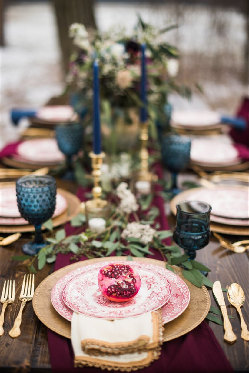 14 Fall Wedding Color Palettes That Are Totally Modern