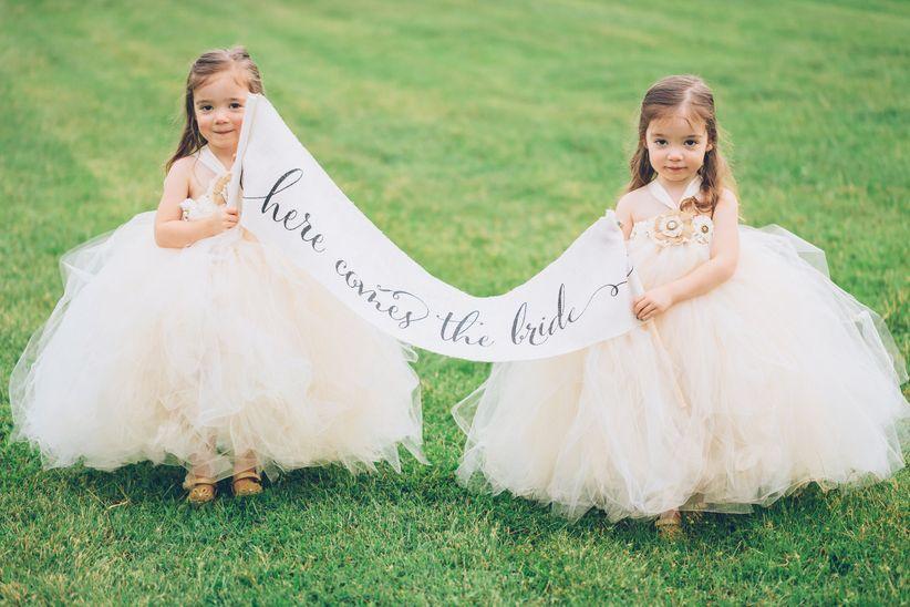 Flower Girl Wedding Wagon For Baby