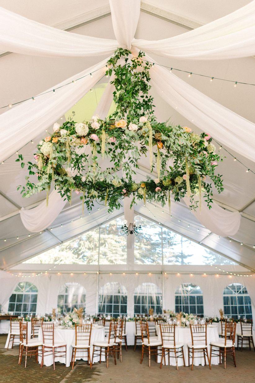 Tent Wedding Reception Decorating Ideas