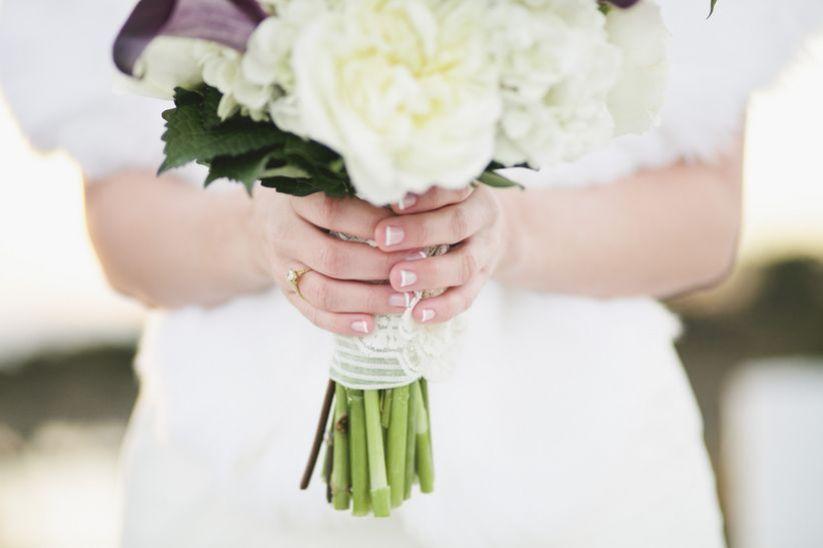 The Best Nail Polish Colors for Your Bridal Shower; #NailColors #BridalNails #NailDesign #BridalShower #NailArt