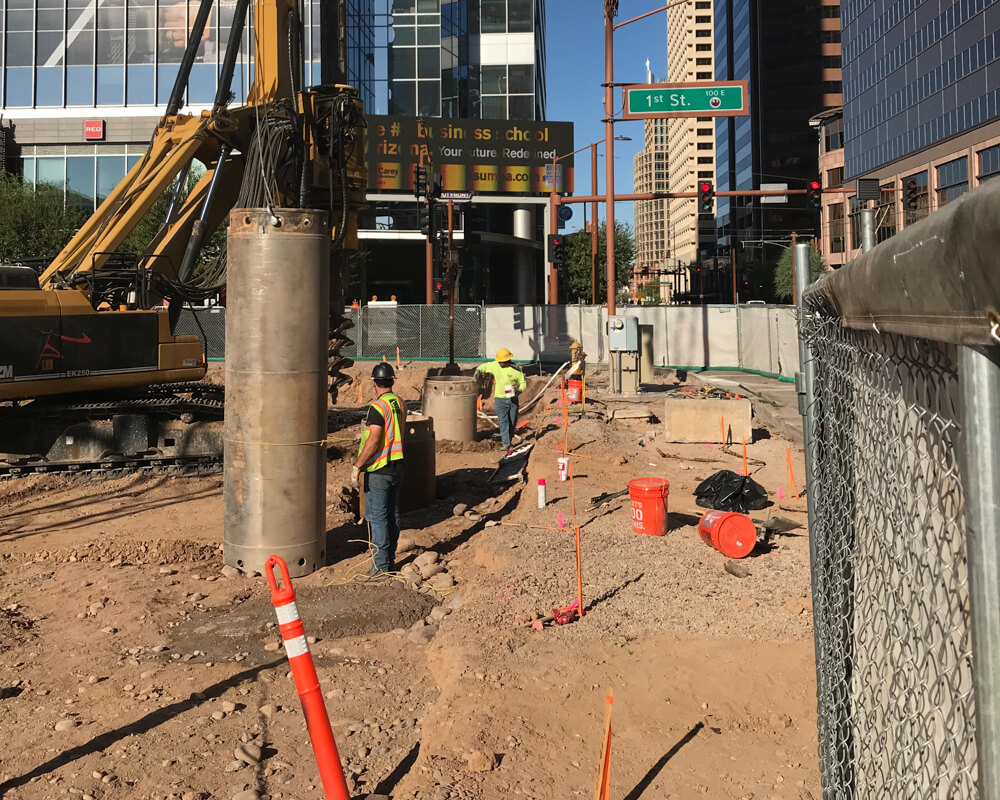 Block 23 Site Drilling