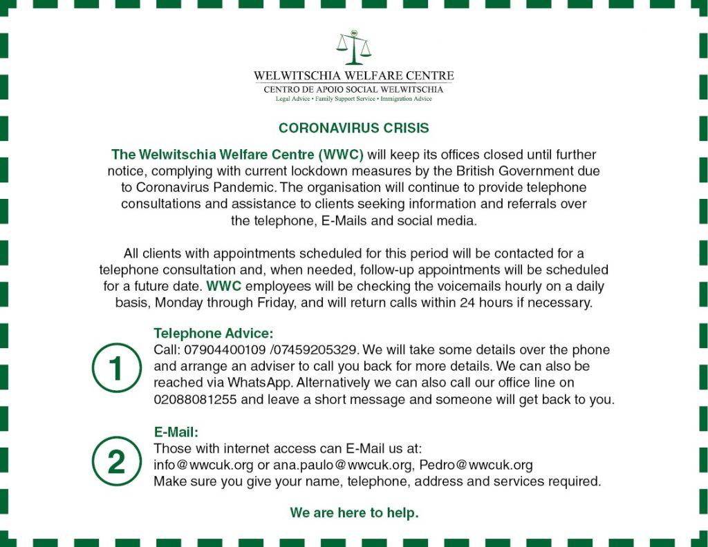 WWC-COVID-Notice-English