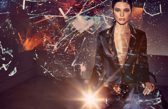 Kendall Jenner in an ad for La Perla.