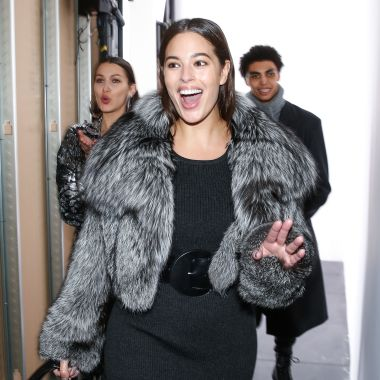 Ashley Graham backstageMichael Kors show, Fall Winter 2017, New York Fashion Week, USA - 15 Feb 2017