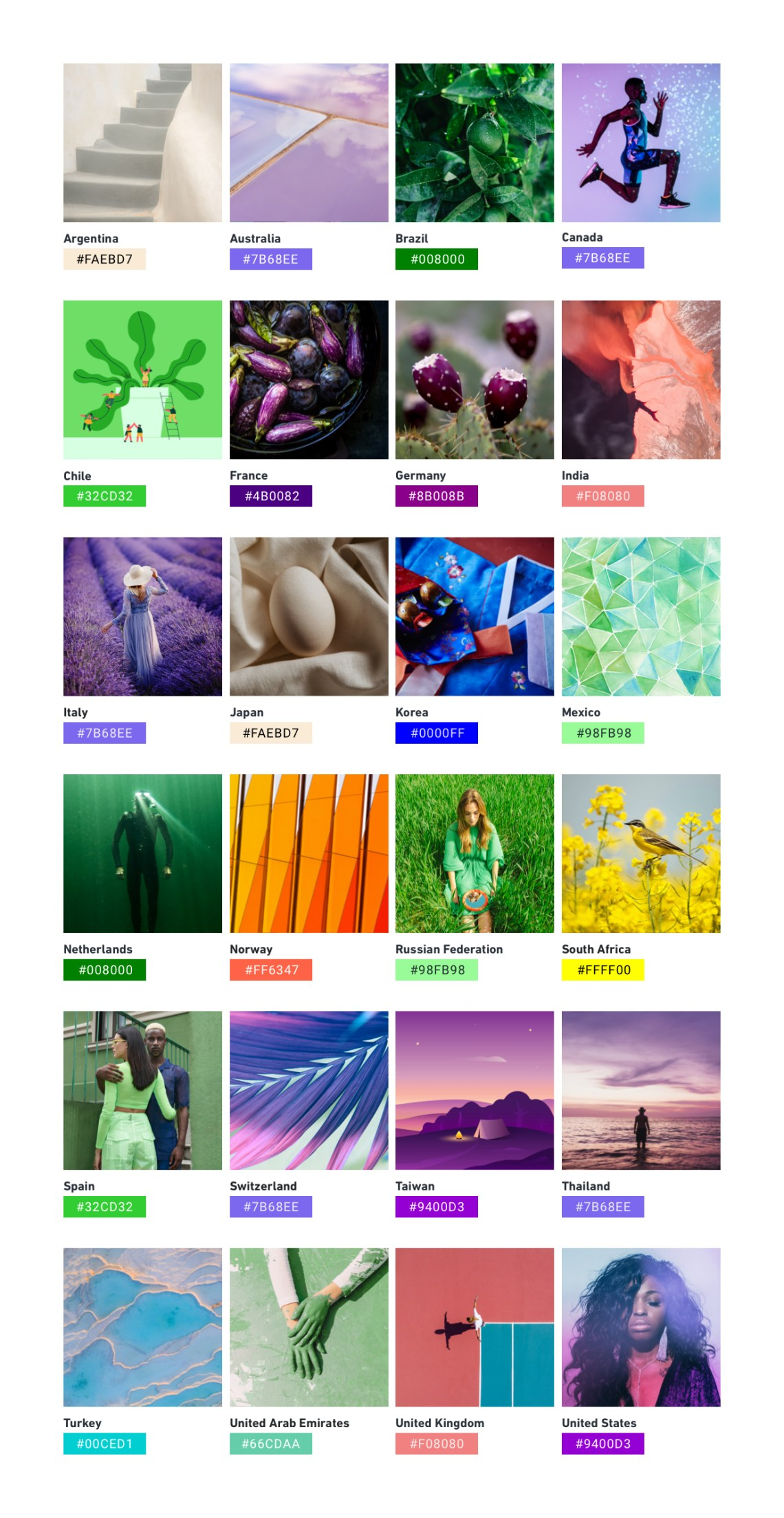 The Top Color Trends of 2021 Reflect a Sense of Hope and ...
