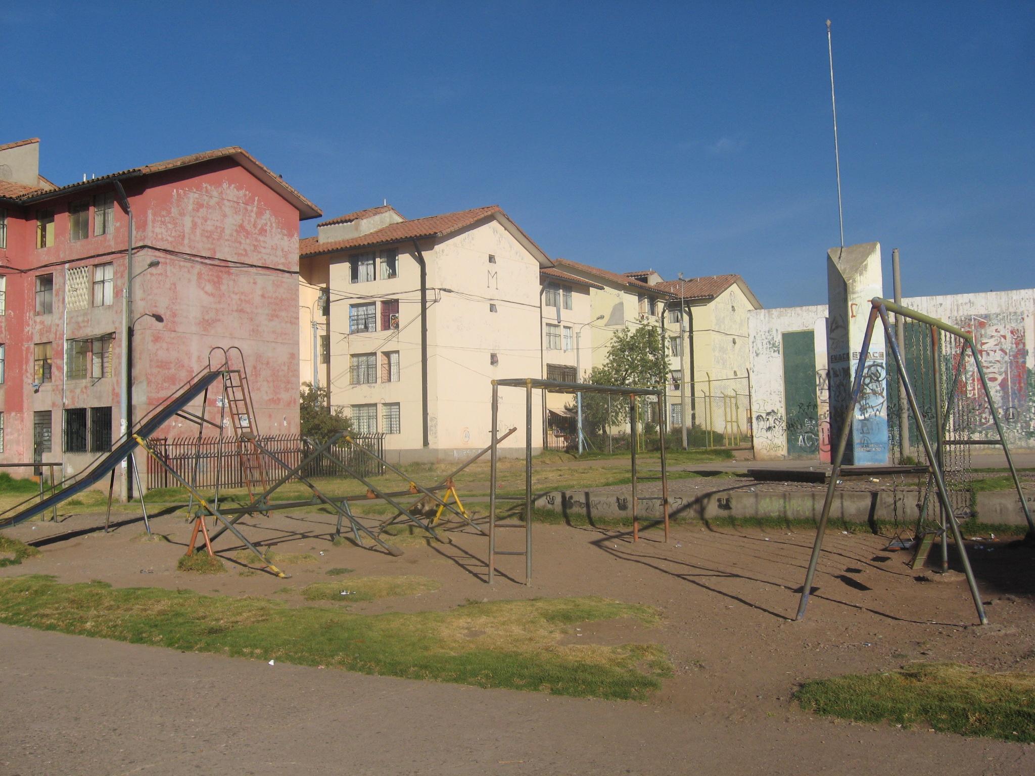 Our neighborhood in Cusco, Peru