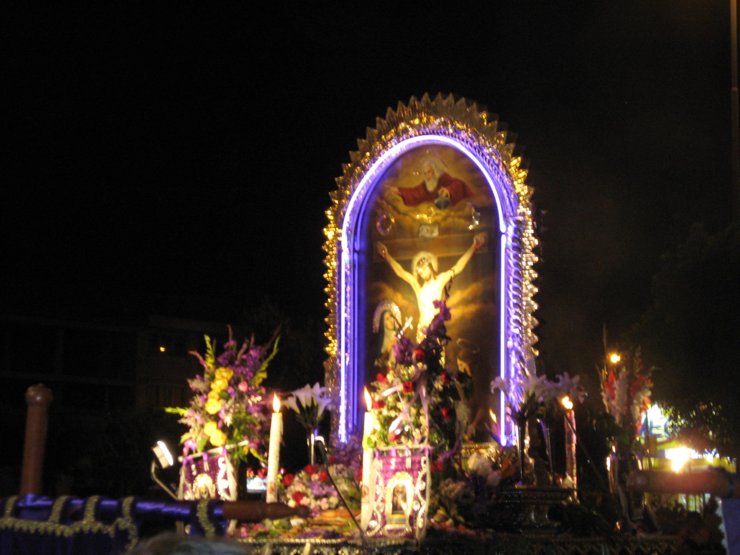 Señor de los Milagros, Cusco 2009