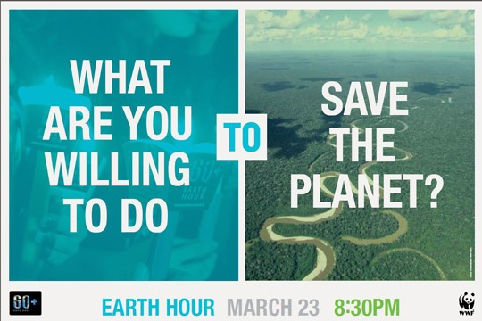 ©Earth Hour / WWF