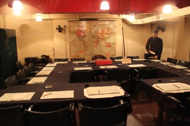 Комната совещаний начальников штабов сегодня.