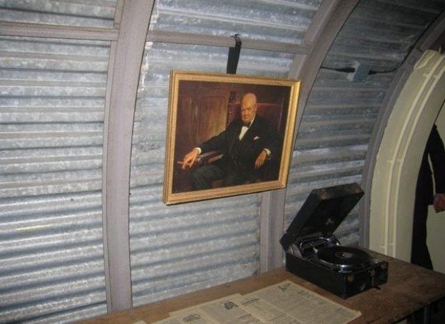 «Вестибюль» бункера.