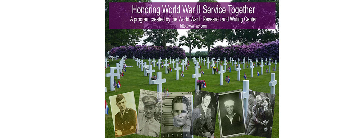 Honoring World War II Service Together Program