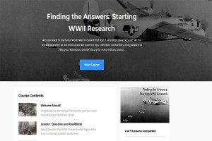 Engage Your Students in a Starting WWII Research Course