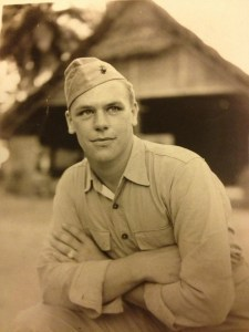 A picture of my grandfather, taken either on Chi Chi Jima or Guam