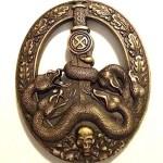 Anti Partisan War Badge Bronze