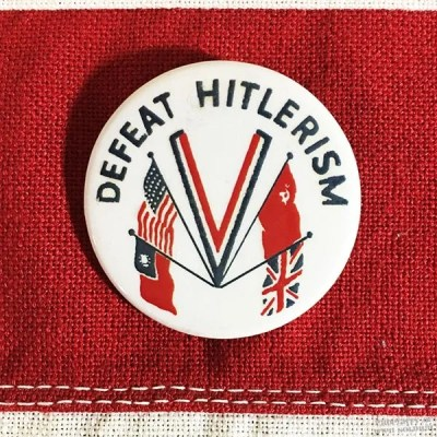 wwii-defeat-hitlerism-pin-reproduction