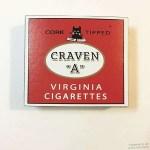 Craven A WWII British cigarettes