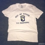 101st Infantry Division WWII T shirt reproduction sm
